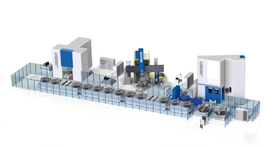 Flexible Manufacturing System - FMS
